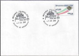 """BUSTA POSTALE TIPO POSTA ITALIANA 0,60 EURO - 2010 - CATALOGO FILAGRANO """"BU2"""" - FDC - 6. 1946-.. Repubblica"""