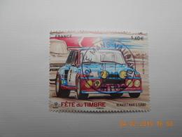 FRANCE 2018 YTN° 5205  Du Feuillet   FETE DU TIMBRE. VOITURES ANCIENNES  Timbre Neuf Oblitéré Cachet Rond - France
