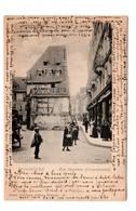 CPA 68 -  Mulhouse - Rue Henriette ( Schwobeinsel ) Animée - Mulhouse