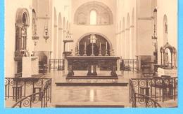 Hastière-Notre-Dame-1934-Eglise Romane-Vue Du Maître Autel Et Autel Du Saint Sacrement-Edit.J.Lemaire, Photographe-Namur - Hastière