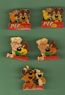PIF *** Lot De 5 Pin's Differents  *** 0060 - Stripverhalen