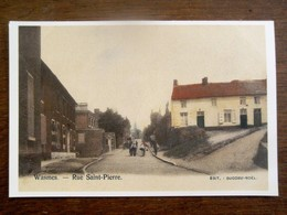 Prentkaart WASMES  Rue Saint - Pierre - Colfontaine
