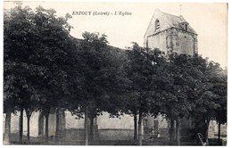LOIRET - Dépt N° 45 = ESTOUY = CPA NEUVE Edition COSSON = EGLISE - France