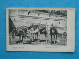 MAROC-   TANGER Caravane En Partance - Tanger