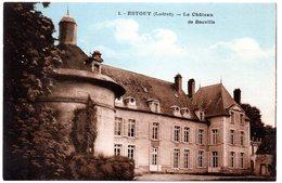 LOIRET - Dépt N° 45 = ESTOUY = CPA NEUVE Edition ARTISTIC N° 1 = CHATEAU DE BOUVILLE - France