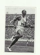 **1 X   Chromo       **JESSE  OWENS    ** GOLD MEDAL - OLYPIA 1936 - Jeux Olympiques