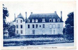 LOIRET - Dépt N° 45 = ESTOUY = CPA NEUVE Edition DELBOY N° 5137 = CHATEAU DE BOUVILLE - France