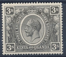 Kenya And Uganda SG No. 90 A Jet-black - Kenya, Uganda & Tanganyika