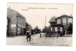 CPA 68 -  Montreux Vieux ( Hte Alsace ) - La Rue Principale , Militaires - Autres Communes