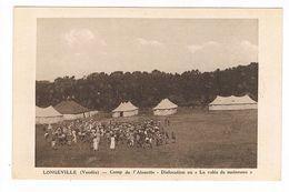 CPA.Vendée (85) Longeville.  Camp De L'Alouette.   (B.1472) - Otros Municipios