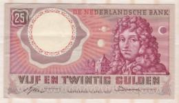 Pays Bas   25 Gulden 1955 , Série : 2YC028005 - [2] 1815-… : Royaume Des Pays-Bas