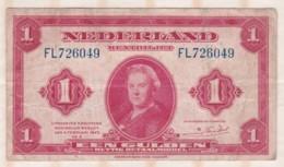 Pays Bas   1 Gulden 1943 - [2] 1815-… : Royaume Des Pays-Bas