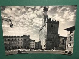 Cartolina Volterra - Piazza Priori Palazzo Pretorio - 1951 - Pisa