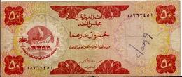 U.A.E. P.  4a 50 D 1973 G - Emirats Arabes Unis