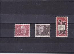 BERLIN  1960-1961 Yvert  171 + 177 +  195 NEUF** MNH - Neufs