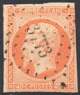 !!! PC 3773 .TRIPOLI SIGNE CALVES, TP TOUCHE A DROITE MAIS FRAPPE SUPERBE - 1849-1876: Periodo Classico