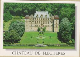 01 Fareins - Cpm / Le Château De Fléchères. - France