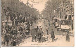 L200A259 - Marseille - Le Cours Belsunce - Belzunce -  Belle Animation, Tram, Charette Et Attelage - Canebière, Stadtzentrum