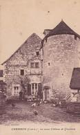 (37) CHAMBON   (591 Ha) Le Vieux Château De Chambon - Andere Gemeenten