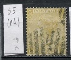 Grande Bretagne - Great Britain - Großbritannien 1867-69 Y&T N°35 - Michel N°31 (o) - 9p Reine Victoria Planche 4 - 1840-1901 (Viktoria)