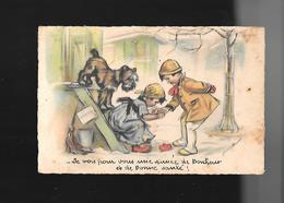 C.P.A. ILLUSTREE PAR GERMAINE BOURET... - Bouret, Germaine