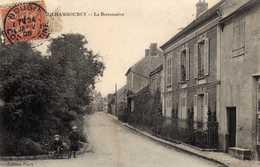 CHAMBOURCY   La Bretonnière. Carte écrite En 1905   Très Bon état - Chambourcy