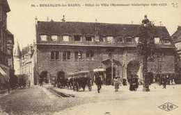 BESANCON Les BAINS  Hotel De Ville  Fiacres Tram Luciline RV - Besancon