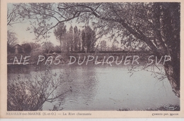 CPA NEUILLY SUR MARNE 93 LA RIVE CHARMANTE - Neuilly Sur Marne