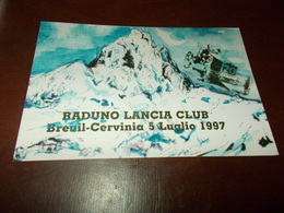 B714  Breuil Cervinia Raduno Lancia Club - Italia