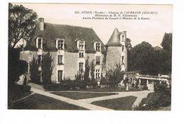 CPA.Vendée (85) Féole. Château De L'Aubraye. Georges Clemenceau.   (B.1506) - Frankreich