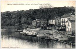 44 LA HAYE-FOUASSIERE - Le Port De La Haye, Vue Prise Du Pont - Frankrijk
