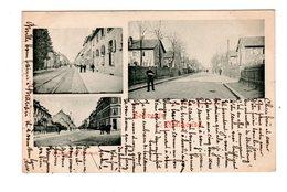 CPA 68 -  Souvenir De Mulhouse - Chaussée De Dornach , Rue Julie , Cité Ouvrière - Mulhouse