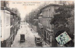 08 SEDAN - Rue De La Rochefoucault (prise Des Remparts) - Sedan