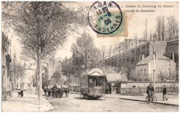 08 SEDAN - Entrée Du Faubourg Du Mesnil Venant De Bazeilles - Sedan