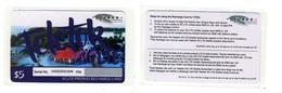 TOKELAU___1st GSM SIM Recharge Card Mint / NSB___low Print Run -> Ca. 1.300 People Live On Tokelau___RRR - Télécartes
