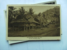 Indonesië Indonesia  Nias Native Houses - Indonesië
