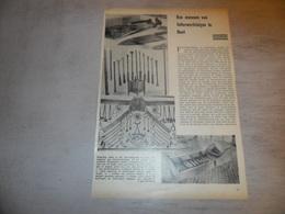 """Origineel Knipsel ( 1604 ) Uit Tijdschrift """" Ons Volk """"  1936 :  Gent   Gand - Vieux Papiers"""