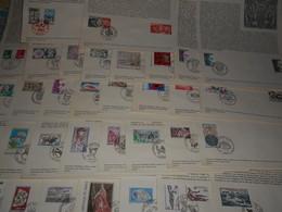 France Collection , 34 Documents De 1974 - Francia