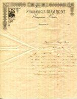 25.DOUBS.ROUGEMONT.PHARMACIE GIRARDOT. - Chemist's (drugstore) & Perfumery