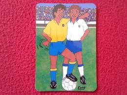 SPAIN CALENDARIO DE BOLSILLO CALENDAR ESPAGNE SPANIEN ISLAS CANARIAS CANARY ISLANDS FÚTBOL FOOTBALL TENERIFE LAS PALMAS - Tamaño Pequeño : 2001-...
