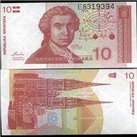 Croatia 10 Dinars 1991 UNC - Croatie