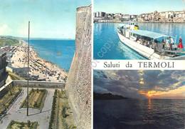 Cartolina Termoli 3 Vedute - Campobasso