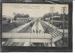 78-VIROFLAY-Une Vue Animée Du Train Entrant Dans La Gare Prise De La Passerelle - Viroflay