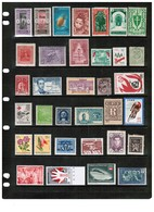 WORLDWIDE---Collection Of MINT Light Hinged/Hinged DL-664 - Collections (without Album)