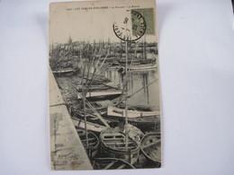 CPA 85 LES SABLES-D'OLONNE La Chaume Le Bassin Bateaux 1920 TBE - Sables D'Olonne