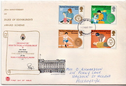 Great Britain Set On Used FDC - FDC