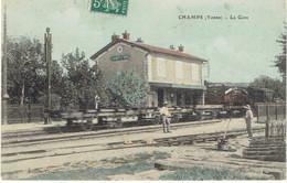 89  CHAMPS  La Gare, Désaffectée - Champs Sur Yonne