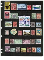 BRITISH COMMONWEALTH---Collection Of USED DL-668 - Collections (without Album)