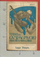 ITALIA 1911 - I LIBRI DEL CAMPAGNUOLO - Biblioteca Minima Ottavi - C. Remondino - Legge Diaspis - N° 46 - Libri, Riviste, Fumetti