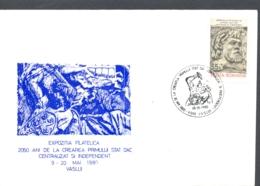 75828- DACIAN INDEPENDENT STATE ANNIVERSARY, KING BUREBISTA, SPECIAL COVER, 1980, ROMANIA - 1948-.... Républiques
